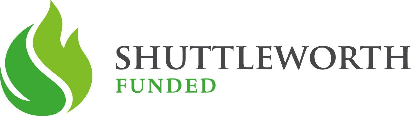 Shuttleworth foundation flash grant - Shuttleworth funded badge